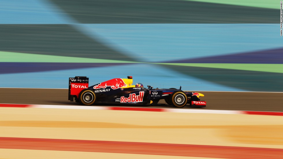 Vettel also won last year's race as the German went on to wrap up a third successive world title.