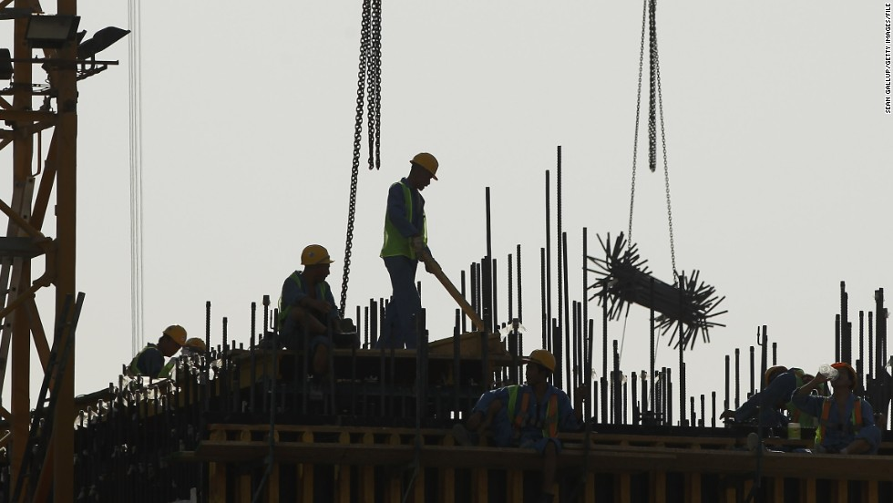 In particular the plight of the country's migrant workers, who make up 90 per cent of Qatar's population, has been highlighted by the International Trade Union Confederation. The ITUC has called for FIFA to strip Qatar of the 2022 World Cup unless it significantly improves its record on worker rights.
