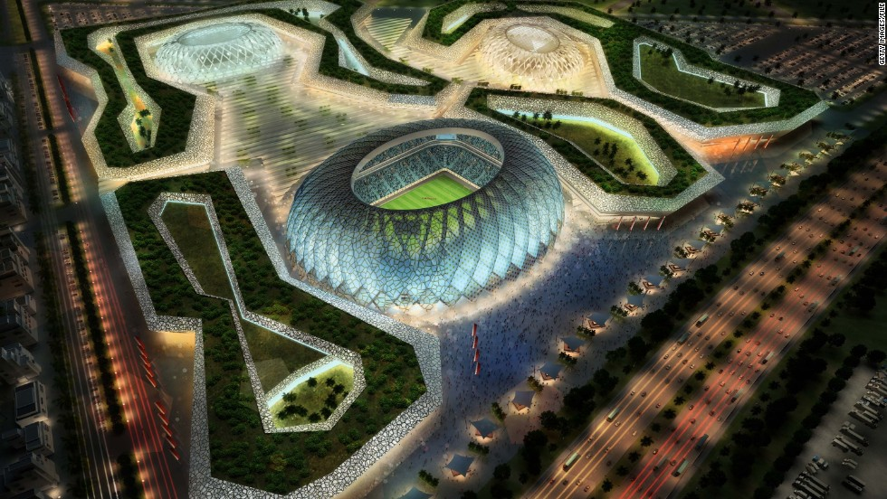 Qatar's ambitious plans for the 2022 World Cup include building brand new, state of the art stadiums that would rival any in the world.