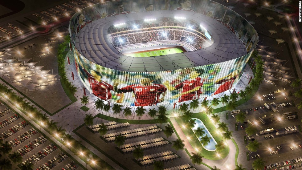 To combat the intense desert heat in the summer, each stadium would be equipped with zero-carbon technology that would cool the pitch and the stands.
