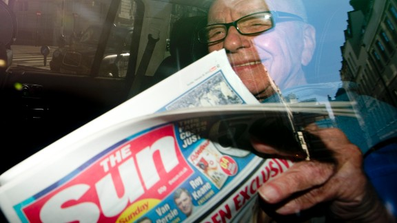 The Sun, the best-selling newspaper in the country, is owned by one of the most powerful media moguls in the English-speaking world, Rupert Murdoch.