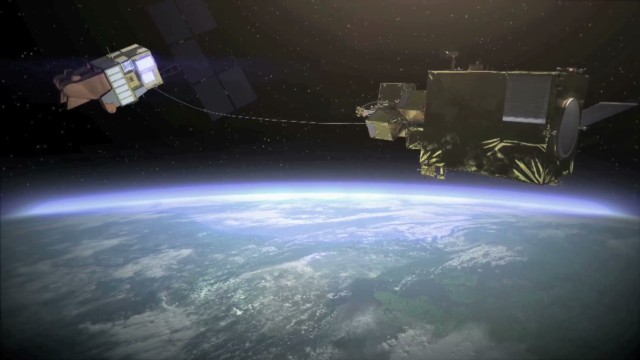 How to capture space debris
