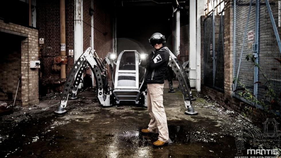 Mantis:' the monster-sized hexapod robot - CNN