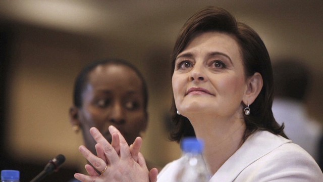 Cherie Blair fights for girls' education