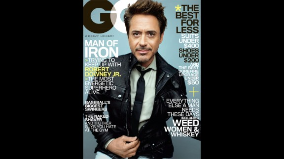 """Robert Downey Jr. is a master of the humble-brag. In the May issue of GQ magazine, the """"Iron Man 3"""" star said he's """"probably one of the best. ...But it's not that big a deal. It's not like this is the greatest swath or generation of actors that has ever come down the pike."""""""