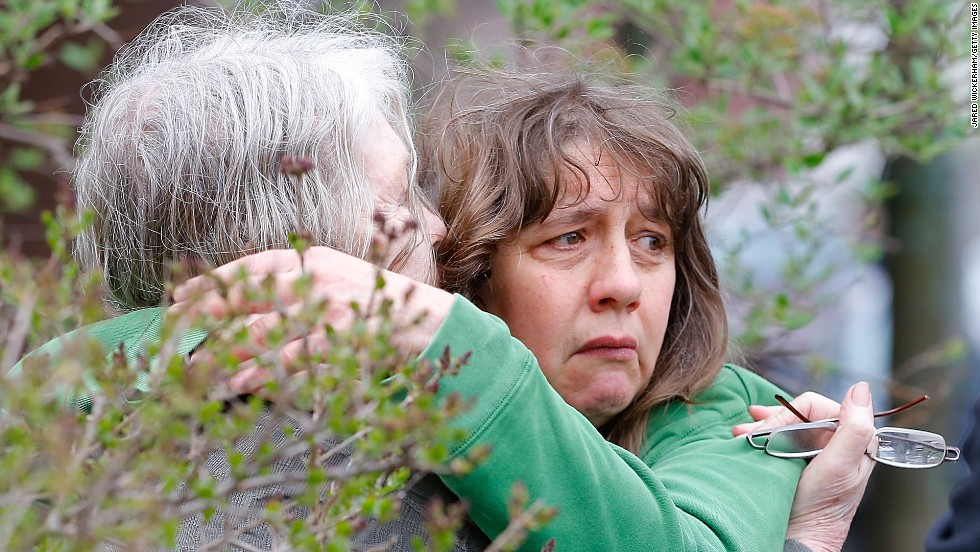 Frightened residents were questioned near Dzhokhar Tsarnaev's home in Cambridge, Massachusetts.