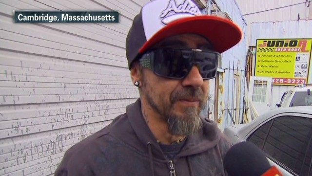 Mechanic saw suspect after Boston attack