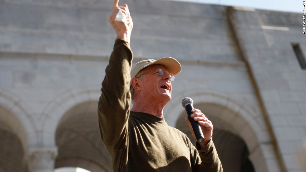 "Actor and environmentalist Ed Begley Jr. has made a living going green with shows like ""Living with Ed."" He dropped meat, avoids driving and tries to live off the electrical grid in a self-sufficient home. In February 2013, he spoke at a rally in Los Angeles for action on climate change."