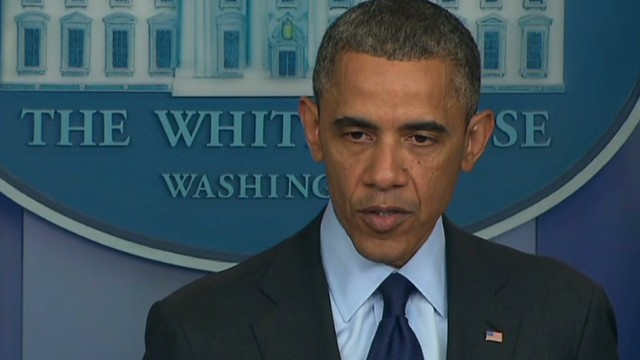 Obama: 'We refuse to be terrorized'