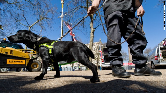 London steps up security for marathon