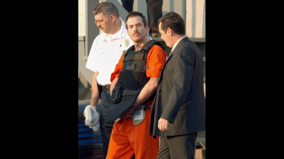 Eric Robert Rudolph -- who was convicted of a string of bombings, including one at the 1996 Olympic Games in Atlanta -- eluded capture until 2003. He was arrested in Murphy, North Carolina, and is serving four consecutive life sentences plus 120 years.