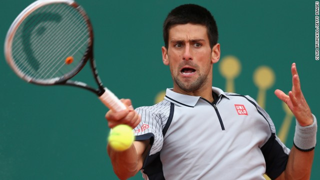 World No. 1 Novak Djokovic is seeking to end Rafael Nadal's impressive winning run in Monte Carlo.