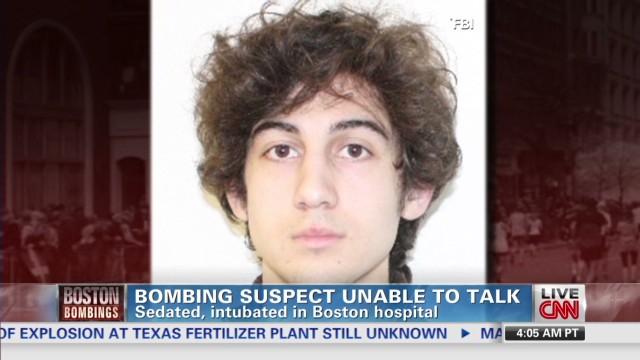 Boston bombing suspect unable to talk