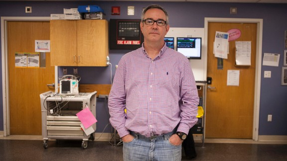 Tufts nurse Stephen Segatore worked with Asaiante at the scene of the bombings to treat victims.