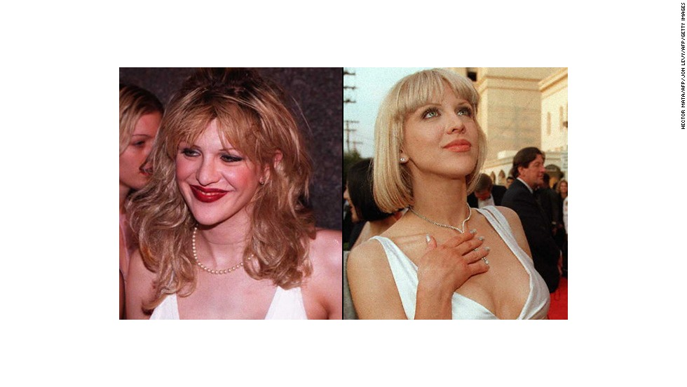 Courtney Love has reinvented her image a few times in her day. Fans were stunned to see the Hole front woman shed her typical grunge- and punk-inspired ensembles for the white gown and polished pixie cut she sported at the 1997 Academy Awards. She eventually revisited the darker, more revealing looks she favored at the start of her career.