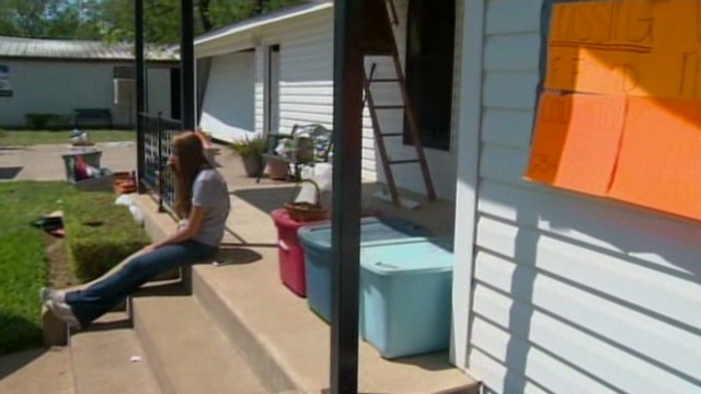 Texas residents see homes after blast