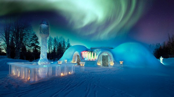 Scandinavia gives you a chance to see the most dazzling light display on Earth.  Click the double arrow to continue the gallery