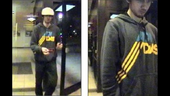 Boston Police released surveillance images of Dzhokhar Tsarnaev at a convenience store on April 19, 2013.