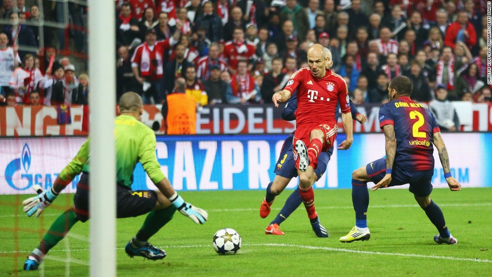 Brilliant Bayern Batters Barcelona Cnn