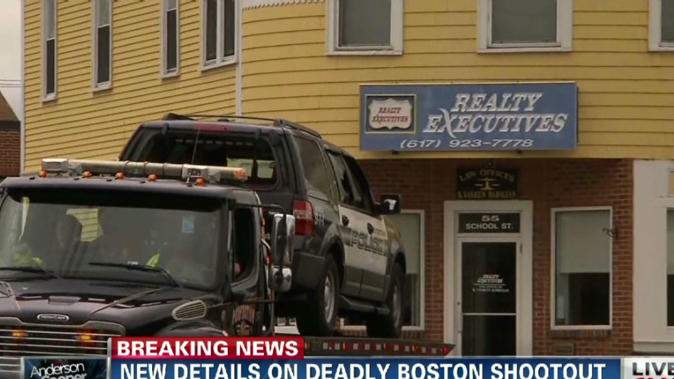 Friendly fire led to officer's shooting during Boston