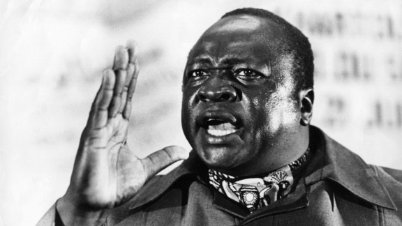 """Idi Amin, the """"Butcher of Uganda,"""" brutally ruled the African nation from 1971-1979 before going into exile in Saudi Arabia. He never returned to Uganda and died in 2003 in Jeddah, where he was later buried. A tourism promotions group in Uganda earlier this year requested his remains be returned so they could be included as part of a tourist attraction."""