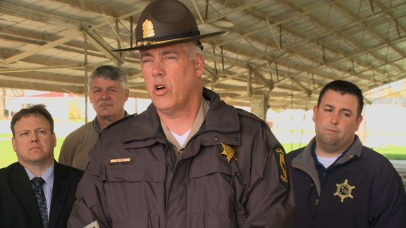 """Illinois State Police Lt. Col. Todd Kilby says, """"There is no reason to believe there is any further danger."""""""