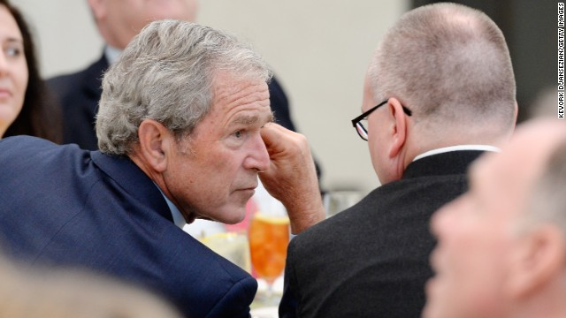 Bush: I was reminded that evil exists
