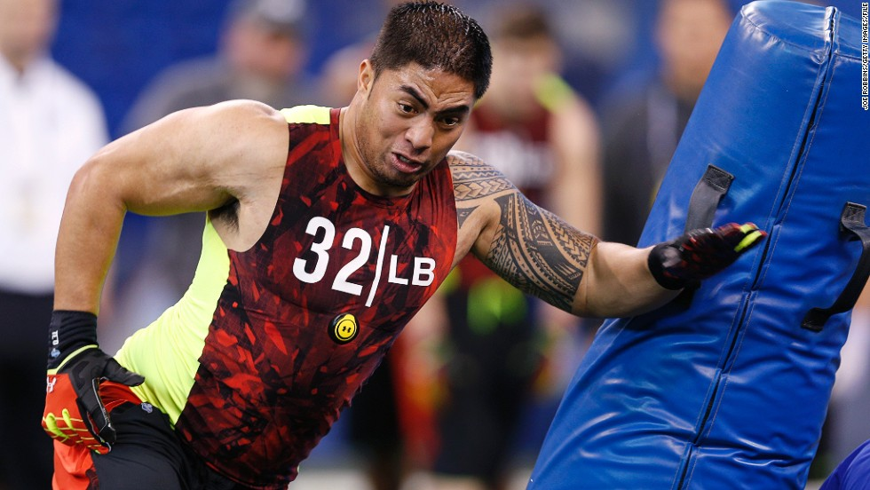 "Kansas City Chiefs, the NFL's worst team last year, will have first pick. Notre Dame linebacker Manti Te'o is one of the most coveted players despite <a href=""/2013/01/31/us/manti-teo-hoax/index.html"" target=""_blank"">last year's controversy about his ""hoax girlfriend.""</a>"