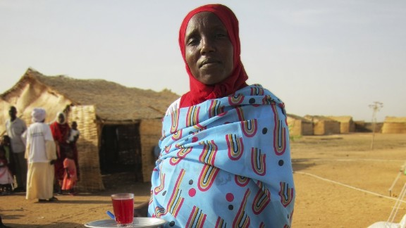 It was created by Portuguese aid worker Pedro Matos, who lived in Darfur for three and a half years.