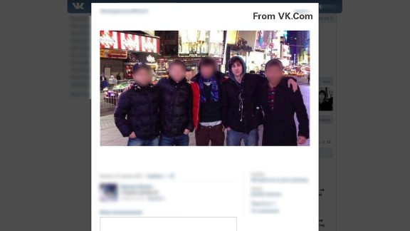 This image from VK.com shows Dzhokhar Tsarnaev in New York