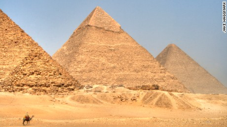 Is the Great Pyramid of Giza lopsided?