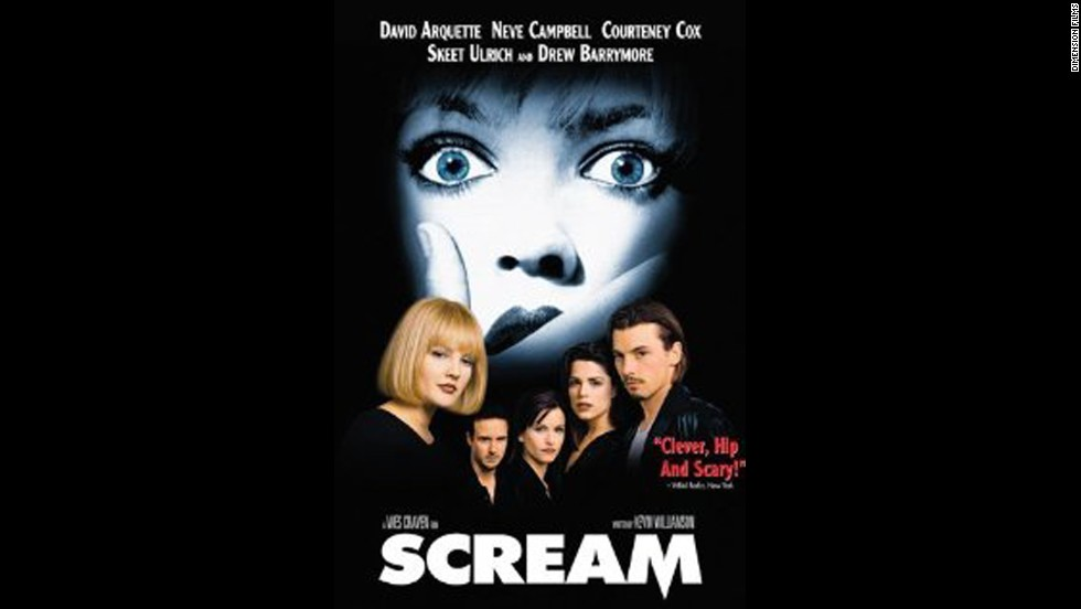 "<strong>""Scream"":</strong> Once upon a time, this Kevin Williamson and Wes Craven horror flick made teens everywhere terrified of a singular Ghostface mask. Since ""Scream's"" heyday in the '90s, the slasher movie is now being developed as a TV series for MTV."