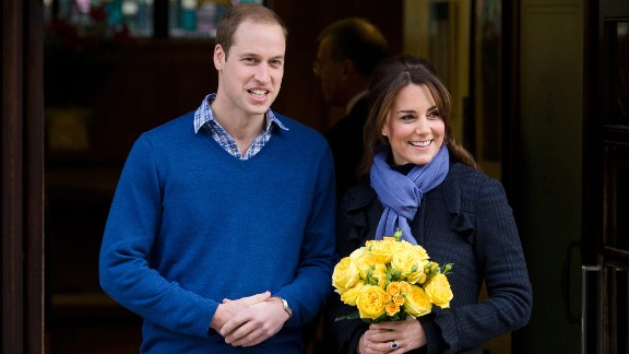 """William and Catherine leave the King Edward VII Hospital three days after she was admitted for acute morning sickness. The hospitalization prompted the <a href=""""http://www.cnn.com/2012/12/06/world/europe/uk-royal-pregnancy"""">early announcement of her pregnancy</a>."""