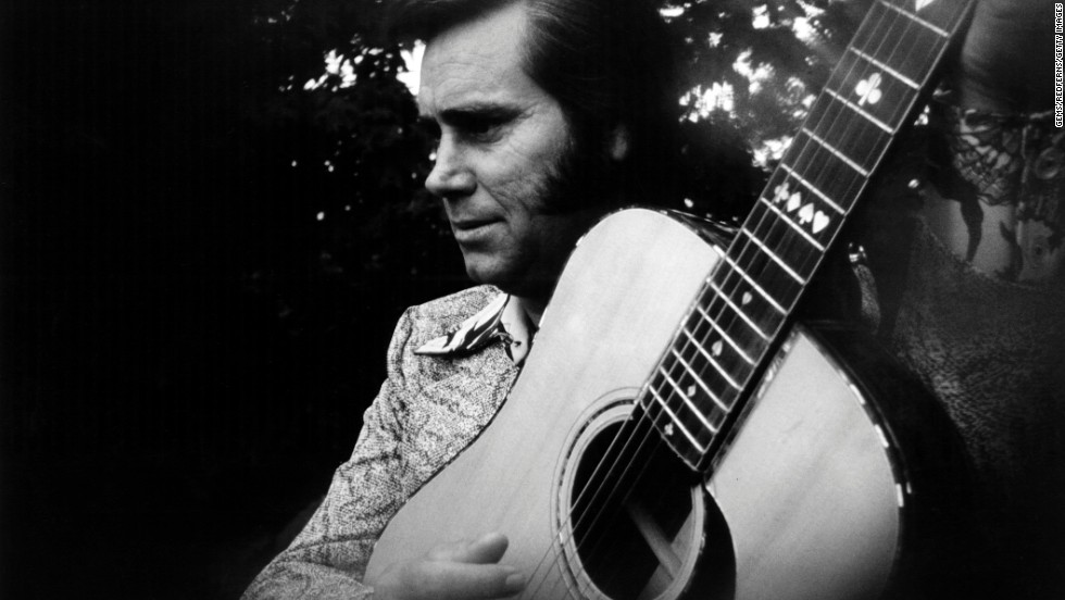 Country music legend George Jones died Friday, April 26, in Nashville, Tennessee. He was 81. Above: Jones poses for a portrait circa 1975.