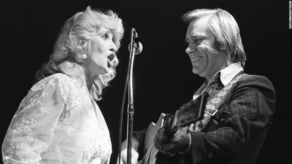 Country singer Tammy Wynette and Jones perform at Countryside Opry in Chicago in October 1980. Wynette and Jones were once married.