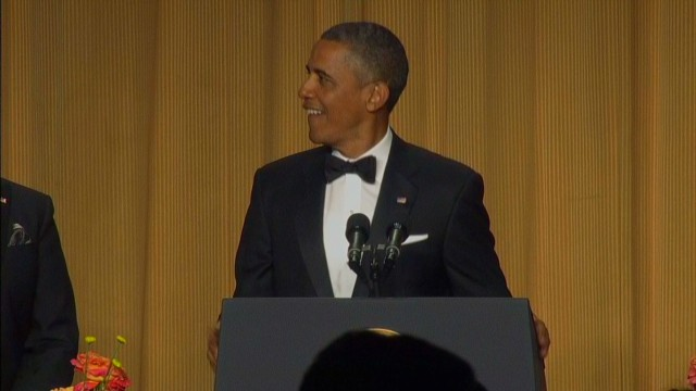 Raw Video: Obama's 'new entrance music'
