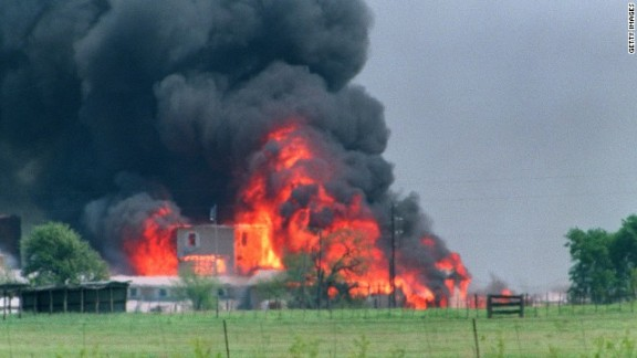 The Branch Davidians, a religious sect led by David Koresh, clashed with federal agents in 1993 in Waco, Texas.