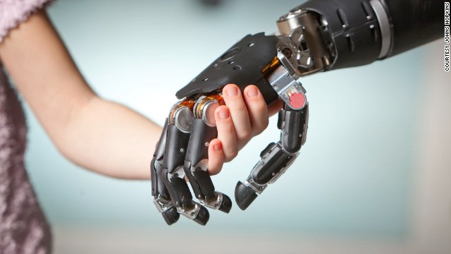 Thought-powered bionic arm 'like something from space'