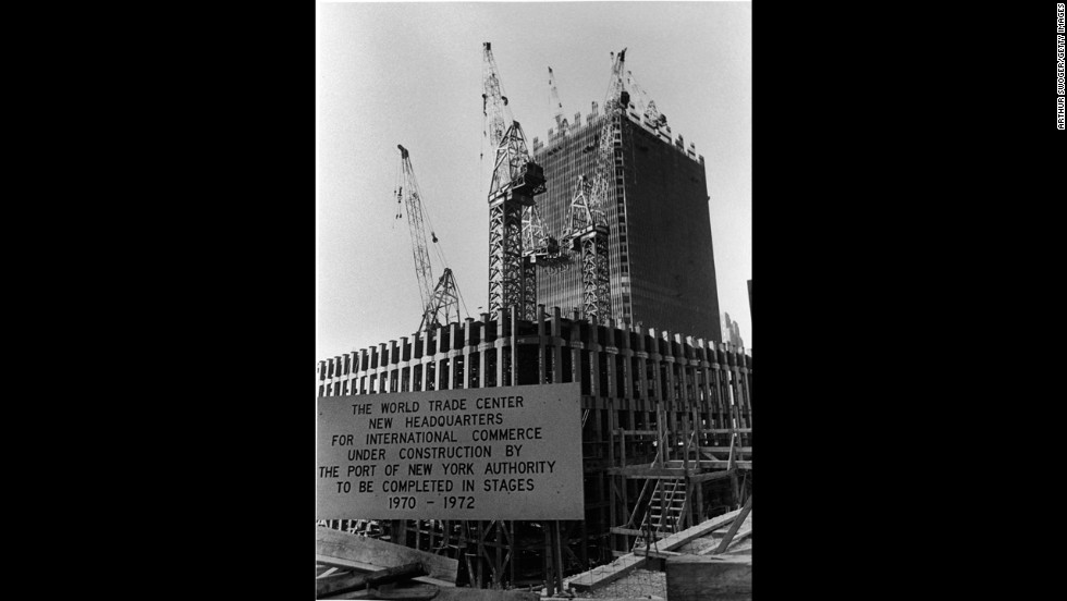 The Port Authority of New York and New Jersey was responsible for the construction and operation of the World Trade Center, shown circa 1971.