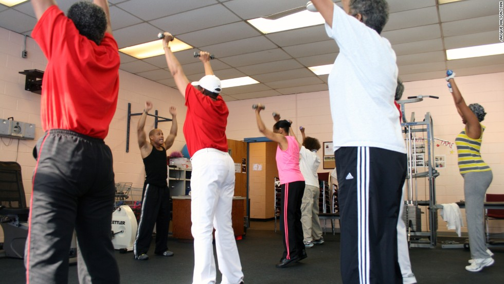 Toe raises strengthen the calf muscles and help with balance. Good balance can prevent falls, Magnum says.