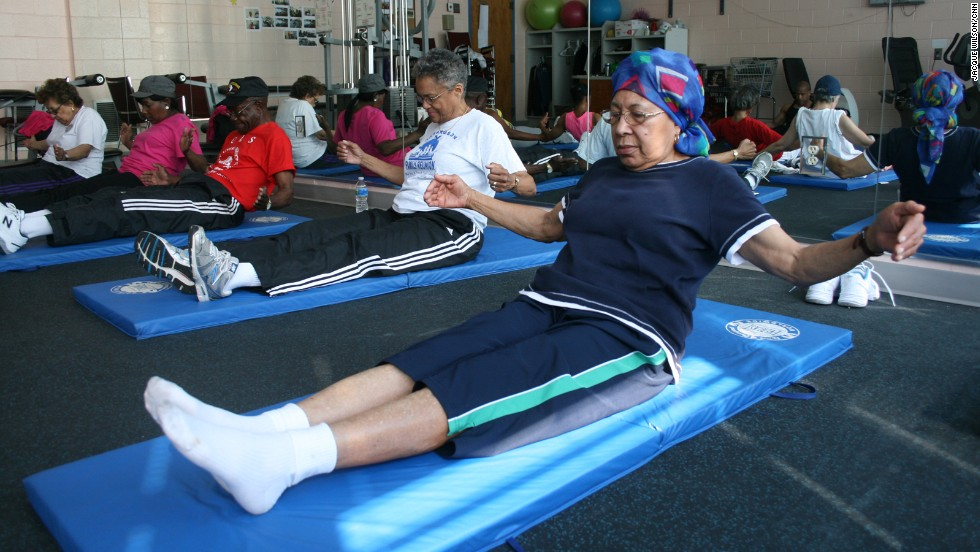 The lean-back fly also helps strengthen the abs and back so bending over and picking up objects is easier, Magnum says.