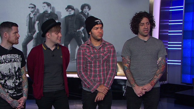 Fall Out Boy to 'save rock and roll'