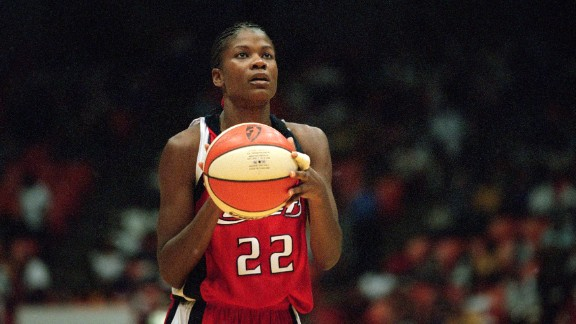 Sheryl Swoopes, a retired WNBA star and coach of the Loyola University Chicago