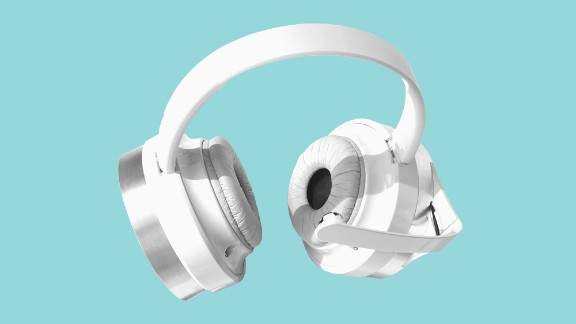 Of course the next step from learning about your lifestyle is actually feeling it. These headphones from Neurowear can read your subconscious mind. Yes, really. With a sensor that measures brainwaves they detect your mood and select music from your playlists to match it.