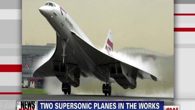 Supersonic planes in development