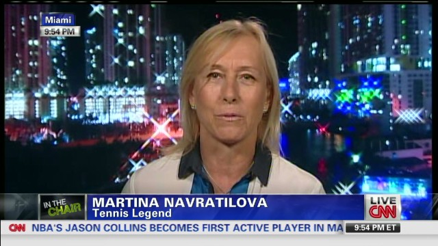 Navratilova: Collins making a difference