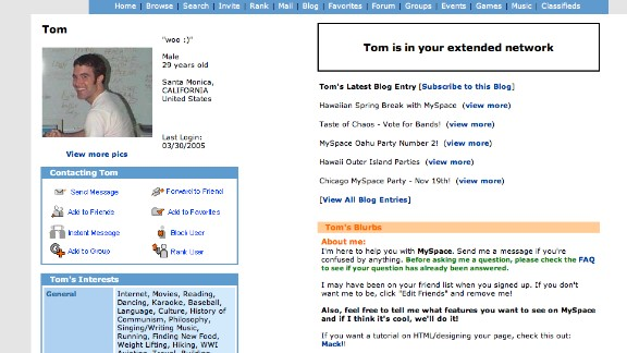 Tom will forever be in our extended networks.