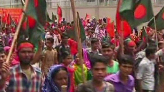 Pressure on Bangladesh over labor