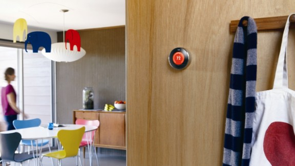 The Nest thermostat is another device that brings together elegant design with super-smart technology. It has the ability to remember, to learn about your lifestyle and adjust the temperature of your environment accordingly. Designed by former king of the iPod Tony Fadell, the thermostat turns down while you are away and can be controlled remotely via your smartphone. It looks cool too.