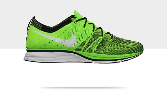 "Lovegrove says that the outwardly unassuming Nike Flyknit running shoes are also an indication of the shape of things to come in terms of the design thinking that went into building.   ""The way they are woven. They put strength and structure where it is required. There are no aglets so they only need to be constructed with one material,"" he says."